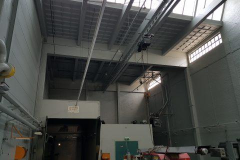 Resultaat na het airless coaten van wanden en plafonds met latex murverf door Voordelig Latex Spuiten