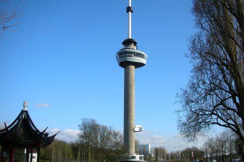 Latex spuiten Euromast Rotterdam