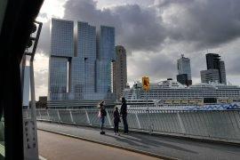 Latex spuiten luxe appartement Noordereiland Rotterdam