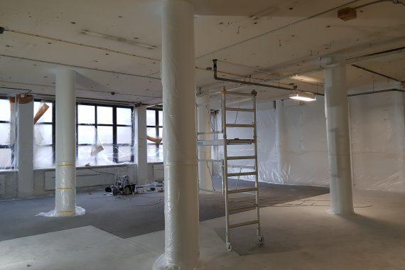Plafonds voor het spuiten met latex