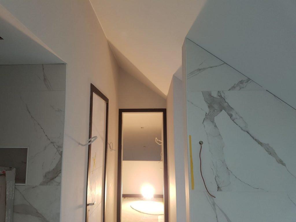 Latex Spuiten van gerenoveerde woning door Voordelig Latex Spuiten
