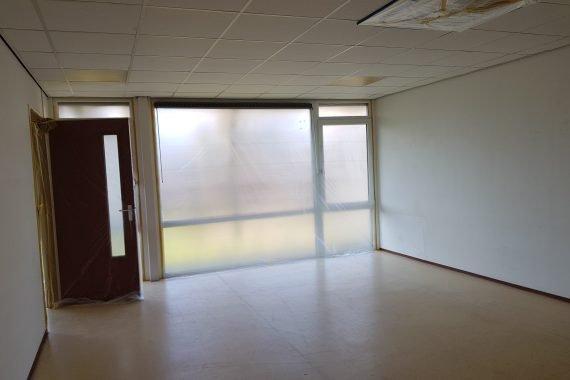 BSO ruimte voor het latex spuiten van wanden en plafonds