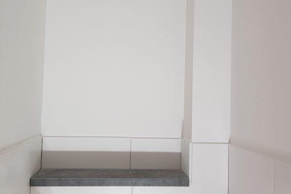 Latex spuitwerk toiletgroeppen