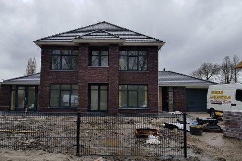 Latex spuiten nieuwbouwwoning/villa Rotterdam