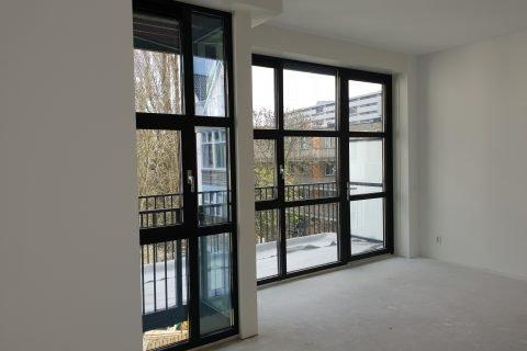 Latex Spuiten nieuwbouw appartementen Rotterdam