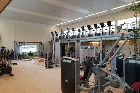 Latex Spuiten sportcomplex en gymzalen Den Haag