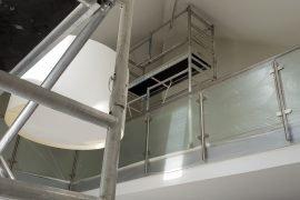 Latex spuiten en plafond restauratie in Kleef Duitsland