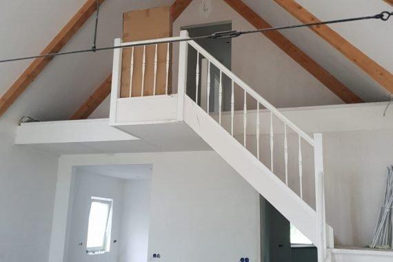 Wanden en plafonds voor Airless latexspuiten