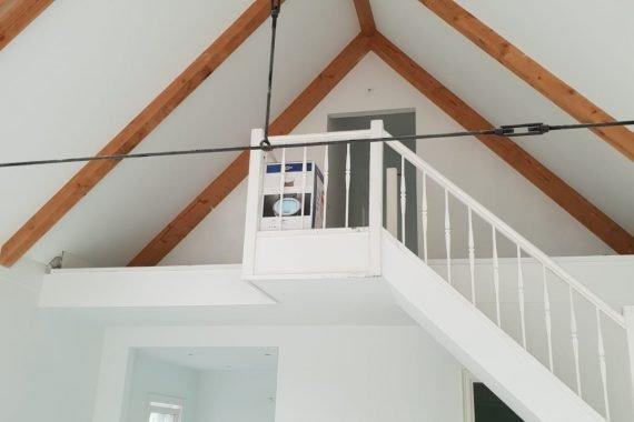 Wanden en plafonds na het Airless latexspuiten