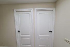Air assisted lak spuiten deuren